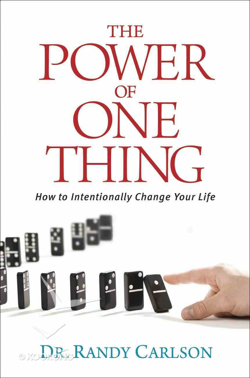 The Power of One Thing eBook