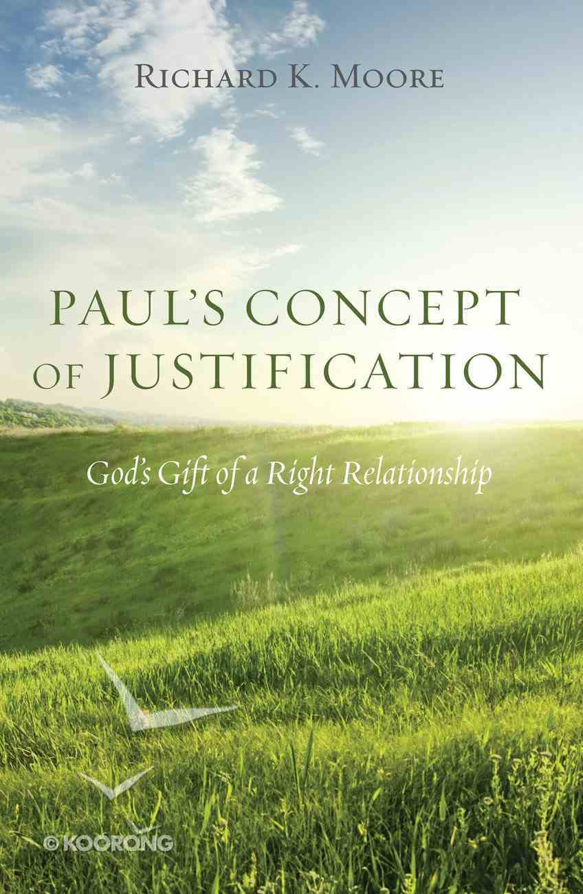 Paul's Concept of Justification eBook