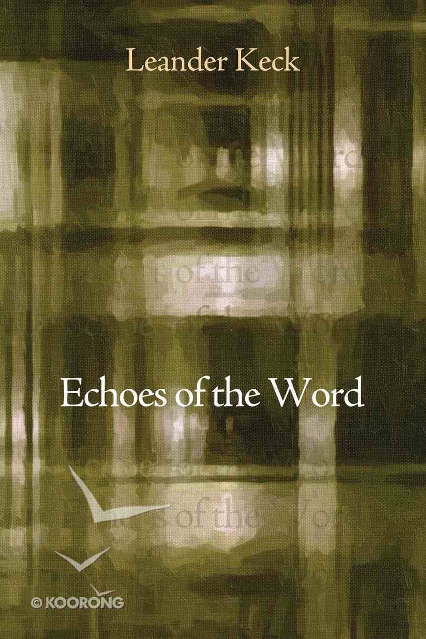 Echoes of the Word eBook