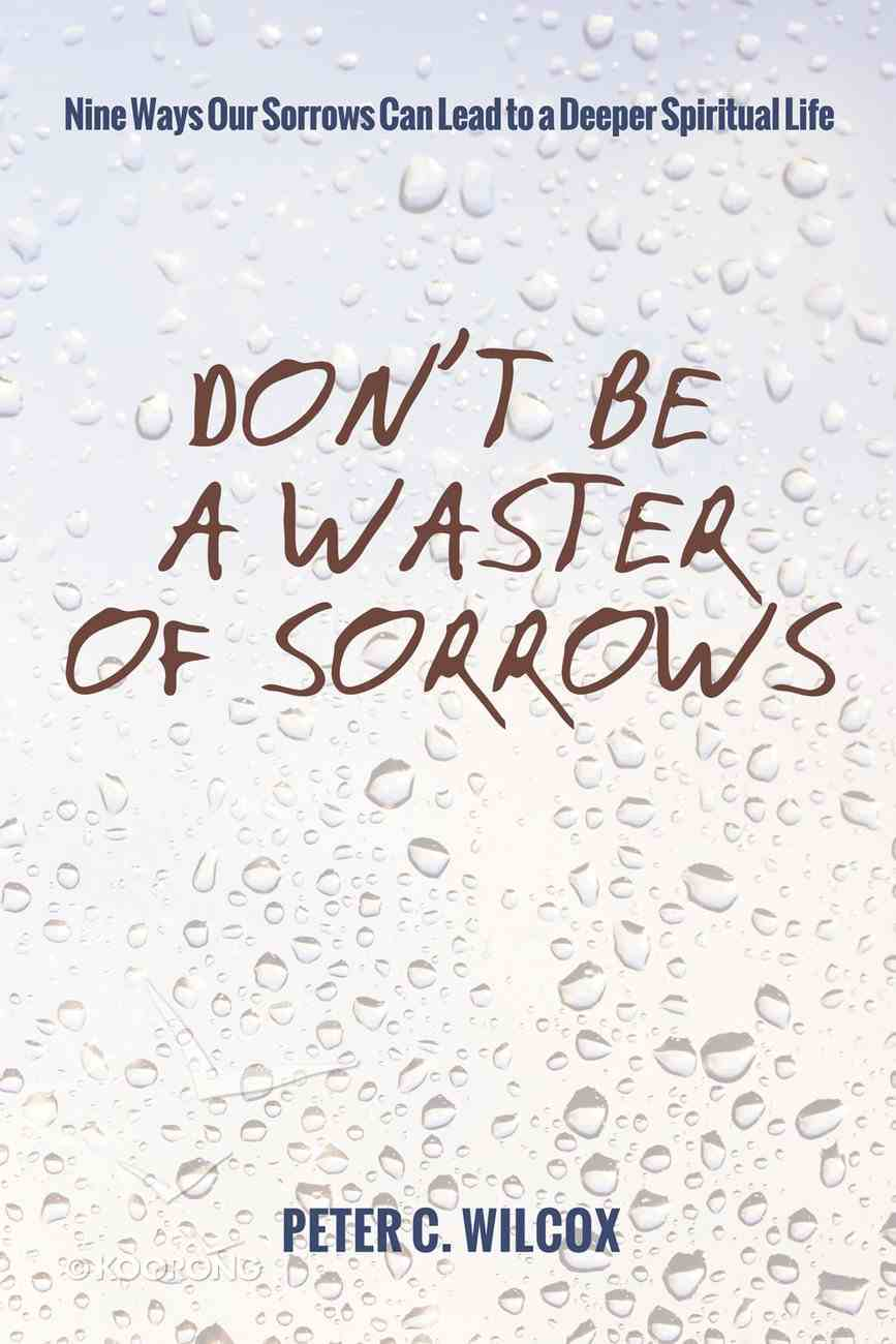 Don't Be a Waster of Sorrows eBook
