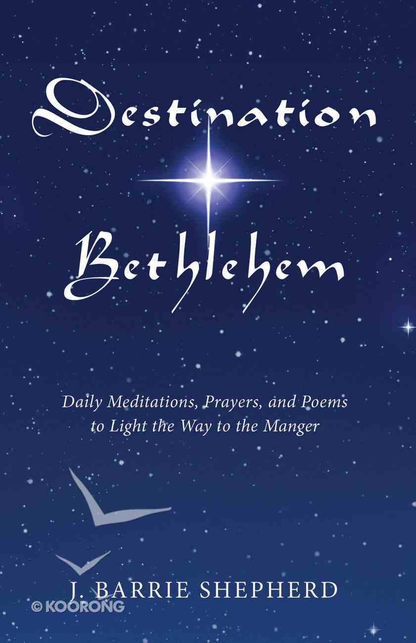 Destination Bethlehem eBook