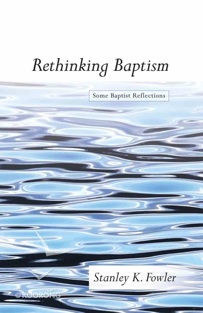 Rethinking Baptism eBook
