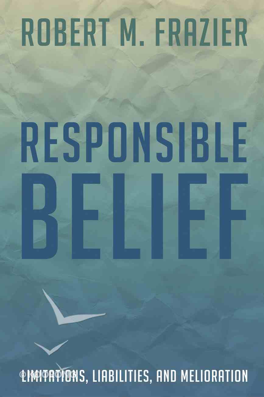 Responsible Belief eBook