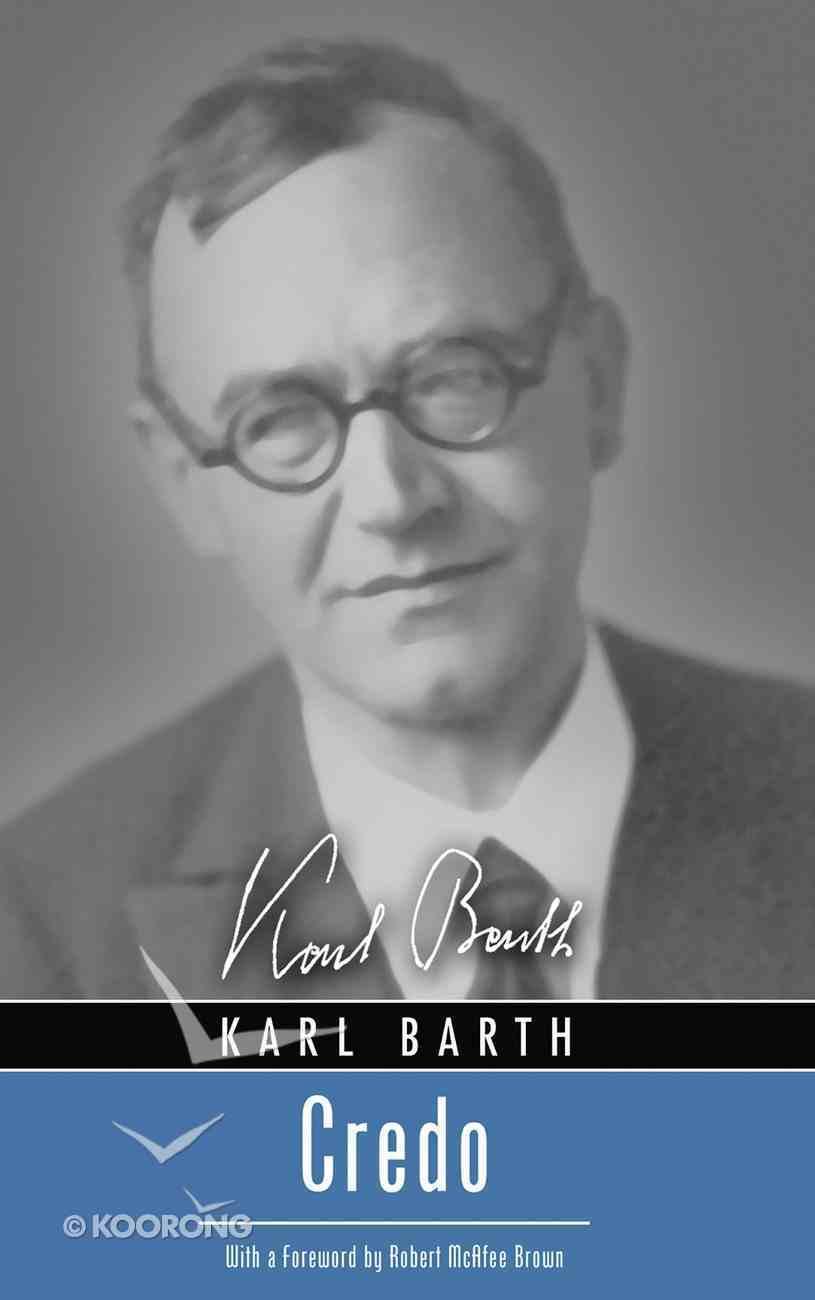 Credo (Karl Barth Series) eBook