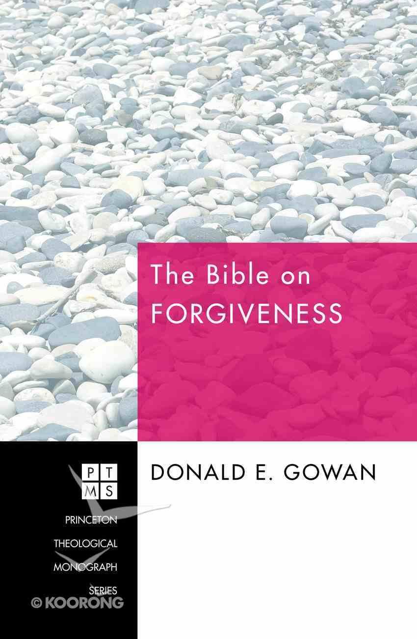 The Bible on Forgiveness eBook