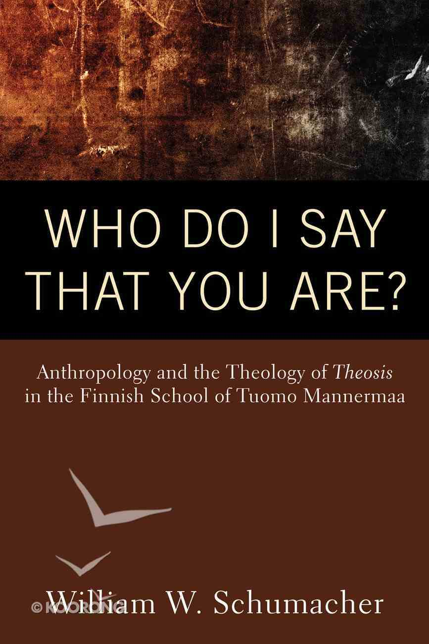Who Do I Say That You Are? eBook