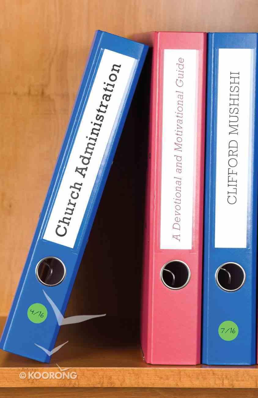 Church Administration eBook
