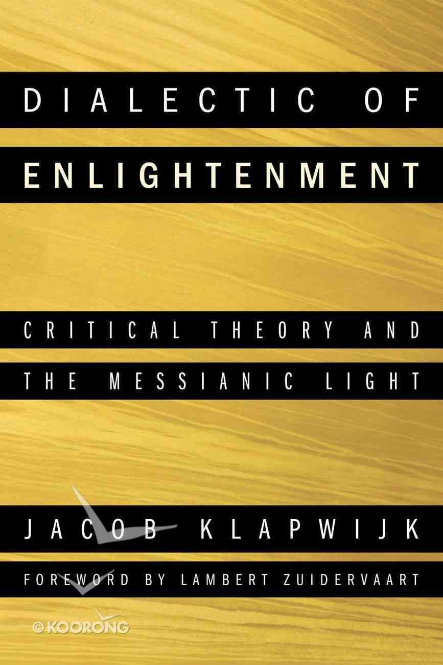 Dialectic of Enlightenment eBook