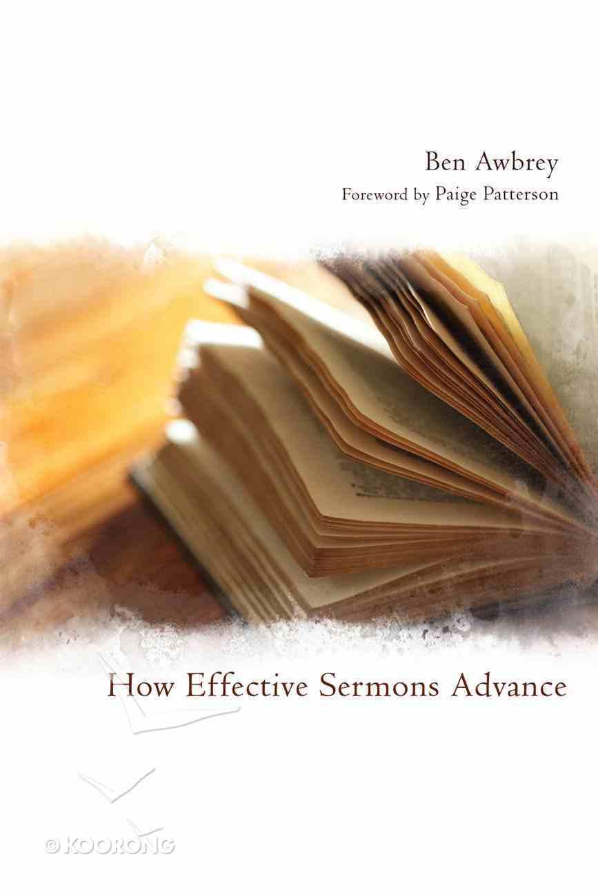 How Effective Sermons Advance eBook
