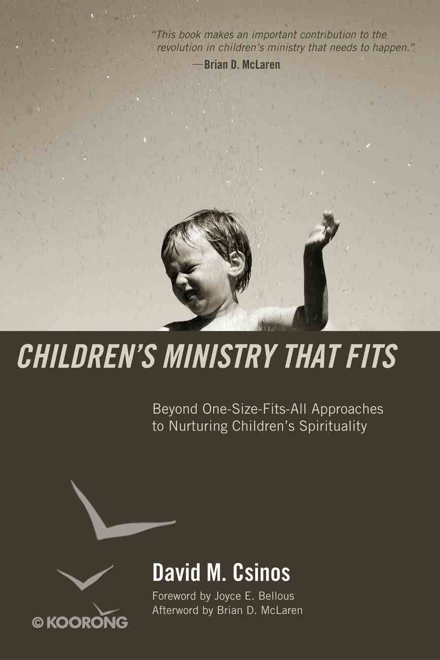 Children's Ministry That Fits eBook