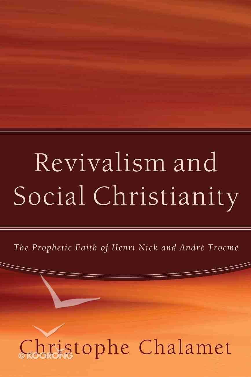 Revivalism and Social Christianity eBook