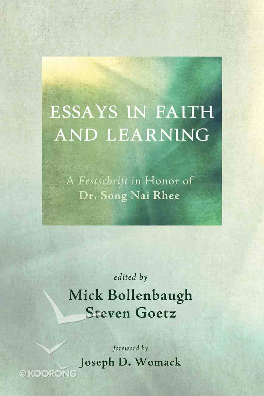 Essays in Faith and Learning eBook
