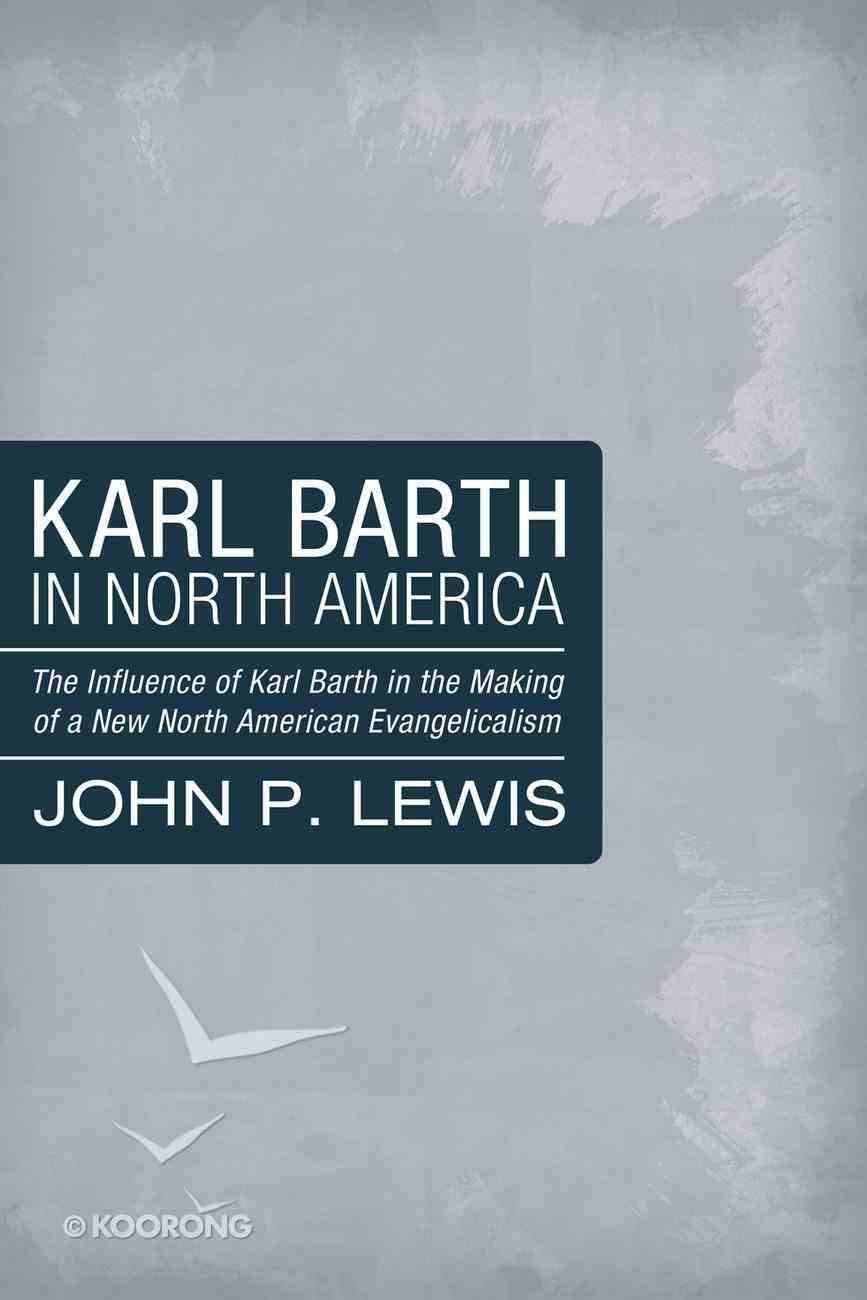 Karl Barth in North America eBook