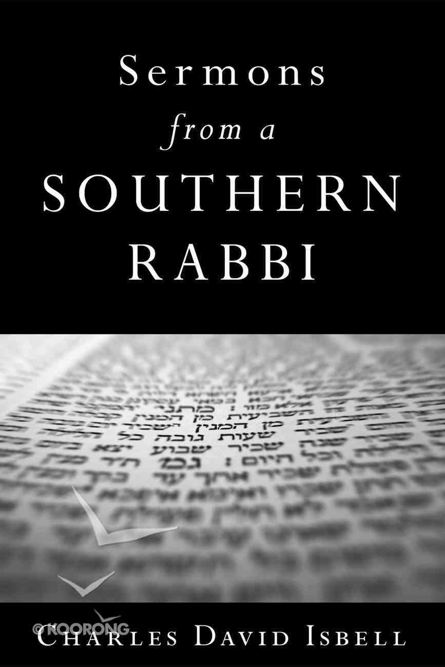 Sermons From a Southern Rabbi eBook