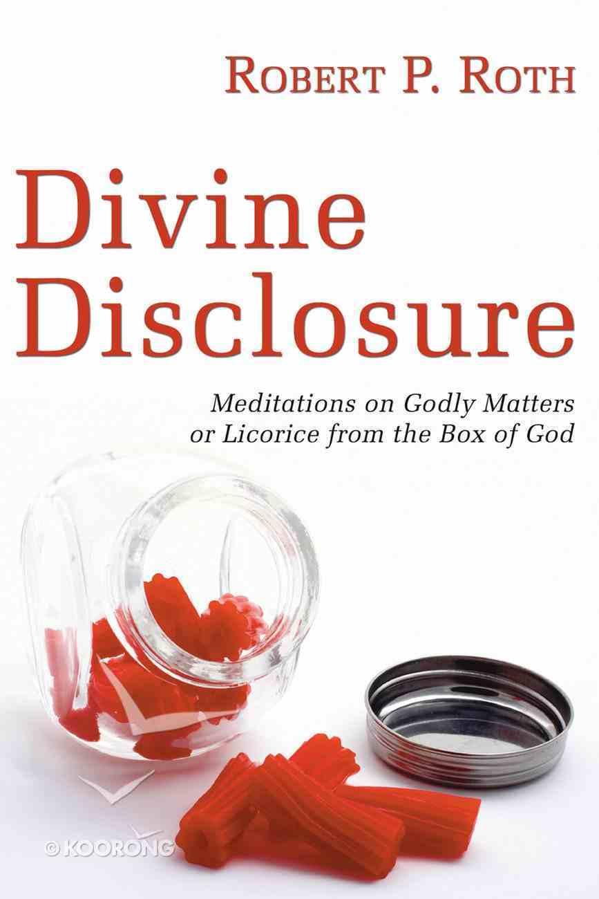 Divine Disclosure eBook