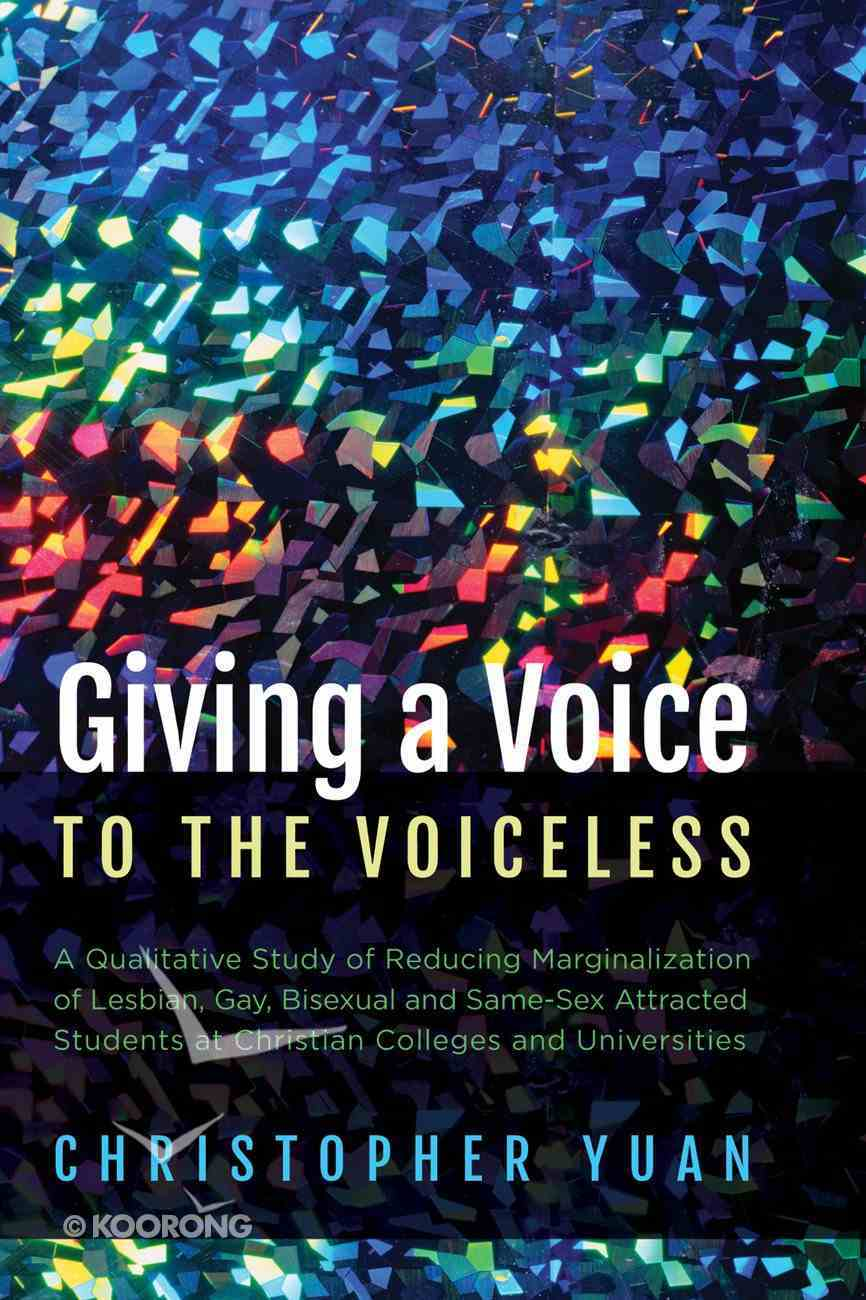 Giving a Voice to the Voiceless eBook