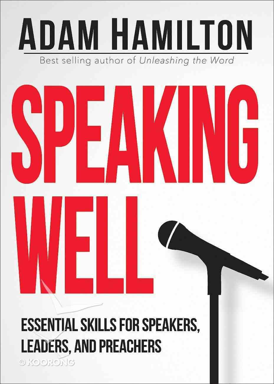 Speaking Well eBook