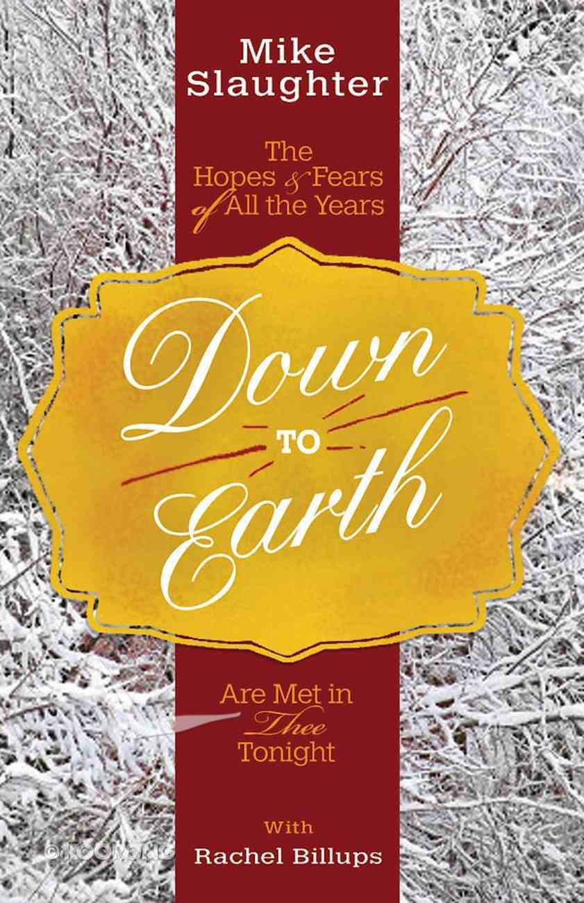 Down to Earth [Large Print] eBook