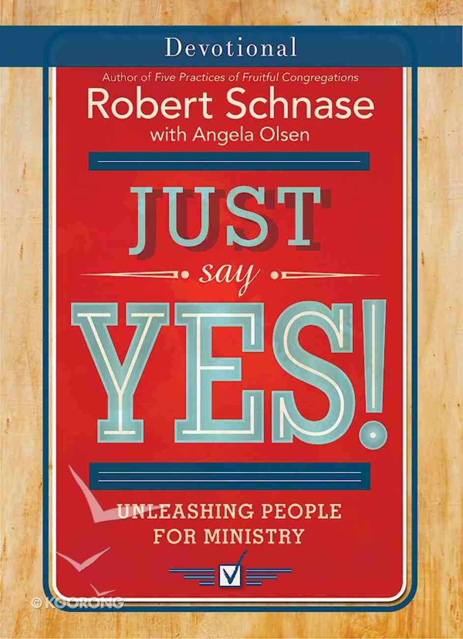 Just Say Yes! Devotional eBook