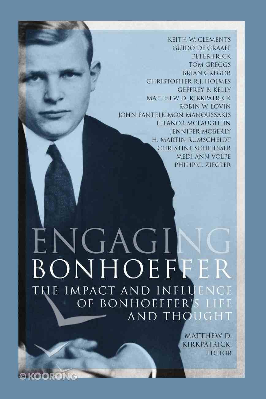 Engaging Bonhoeffer eBook