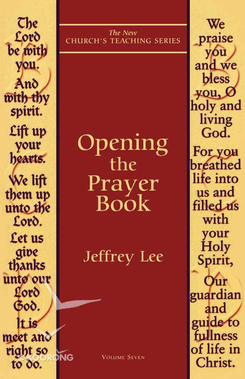 Opening the Prayer Book eBook