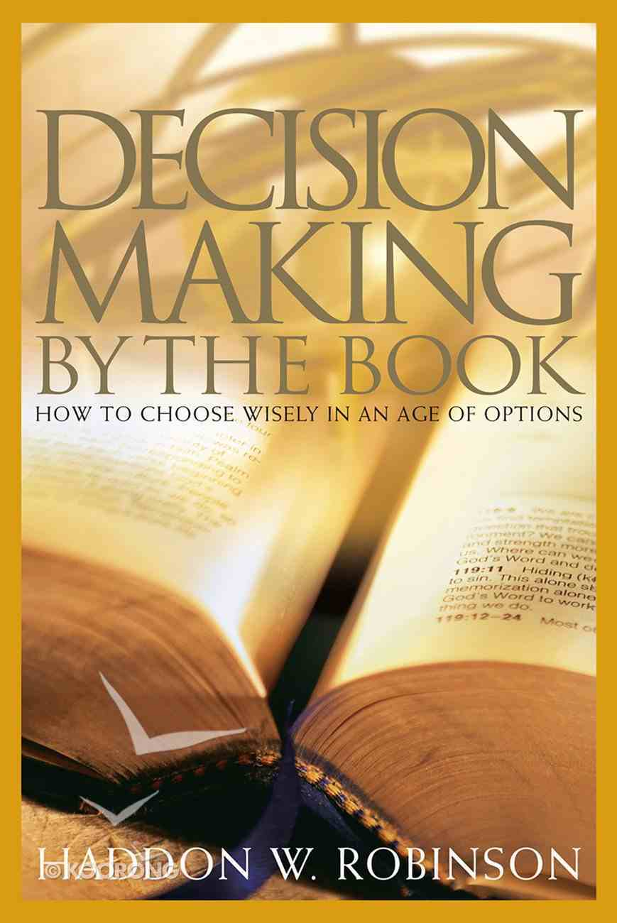 Decision Making By the Book eBook