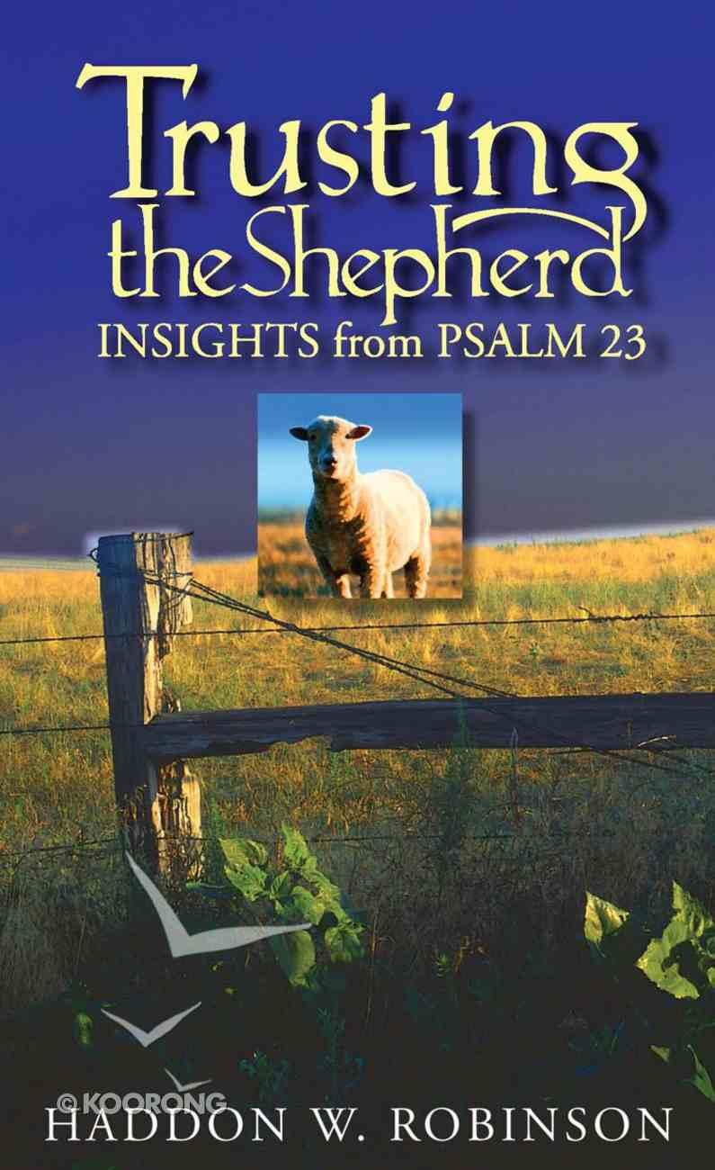 Trusting the Shepherd eBook