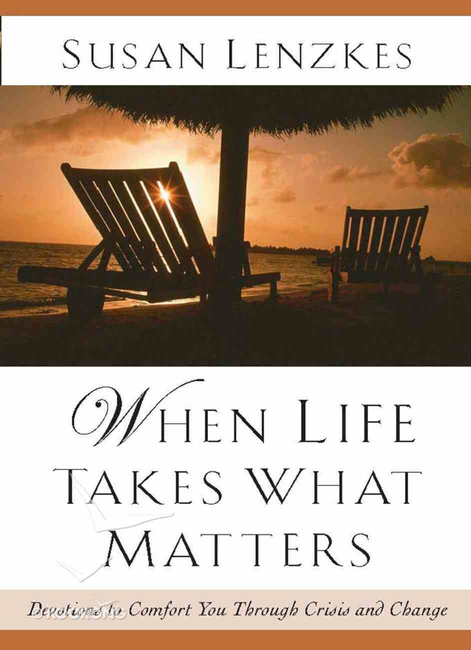 When Life Takes What Matters eBook