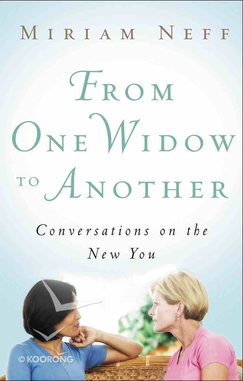 From One Widow to Another eBook