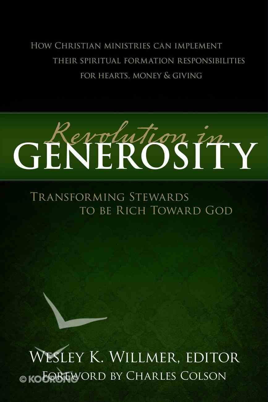 A Revolution in Generosity eBook