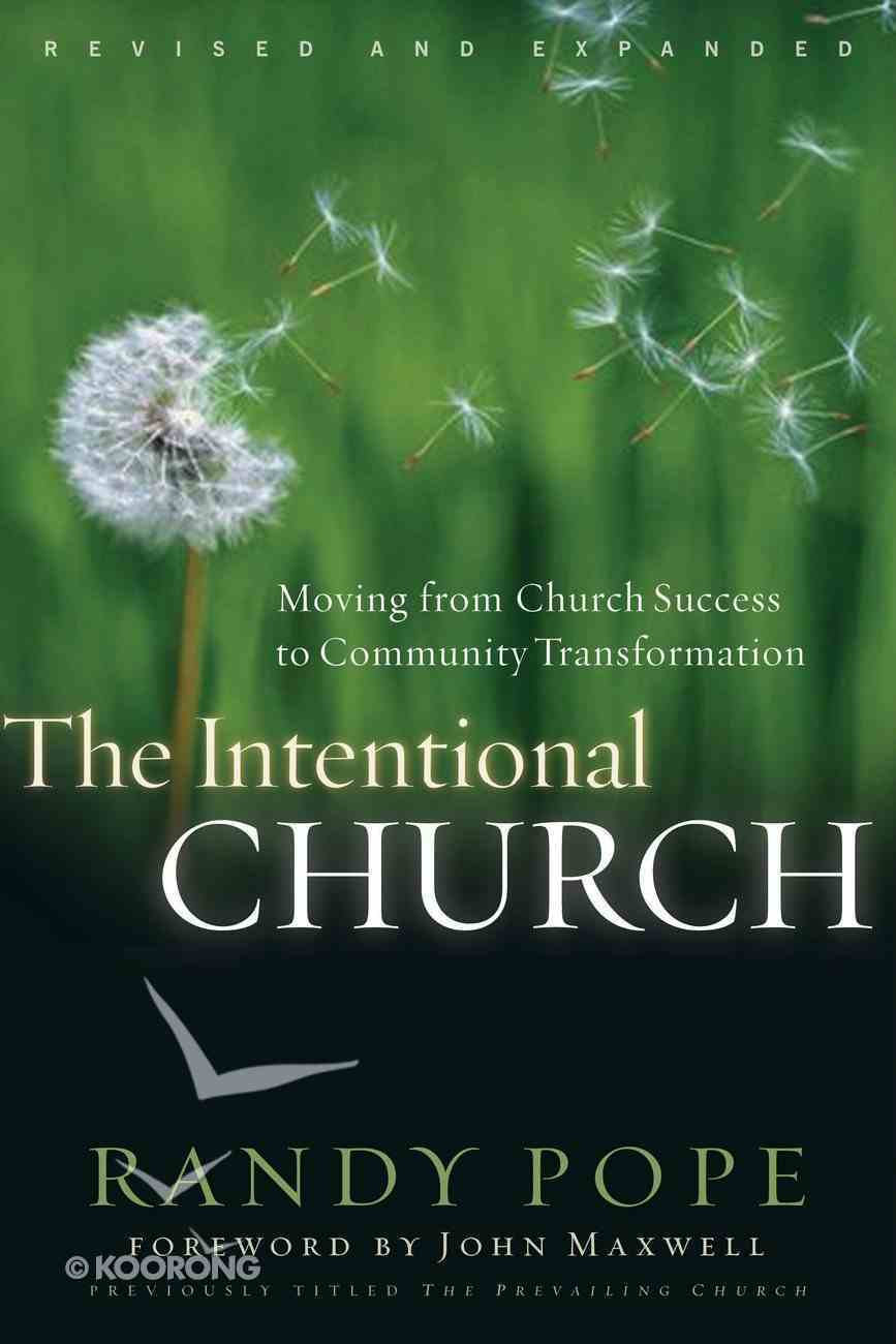 The Intentional Church eBook