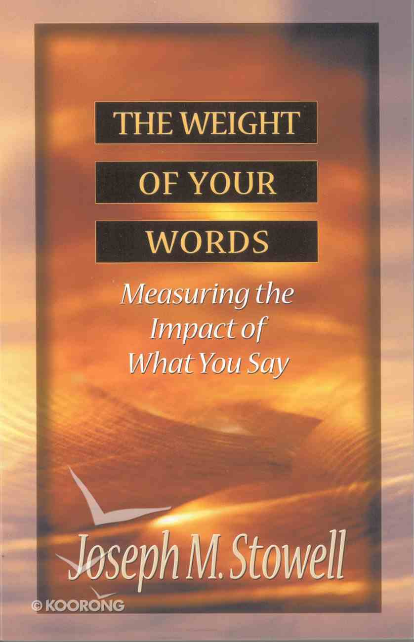 Weight of Your Words eBook