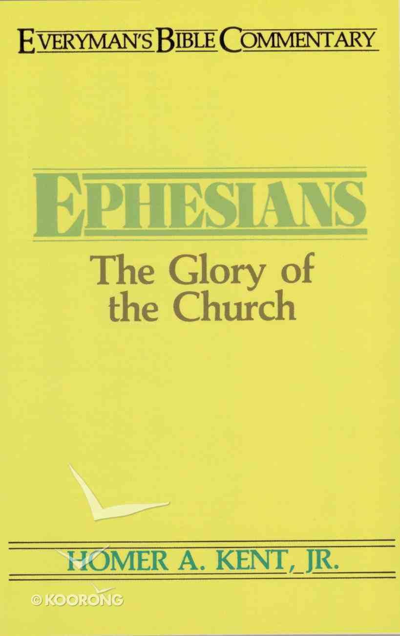 Ephesians (Everyman's Bible Commentary Series) eBook