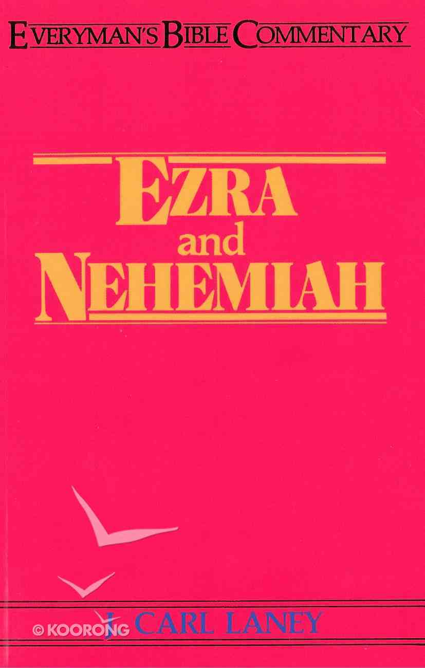 Ezra & Nehemiah (Everyman's Bible Commentary Series) eBook