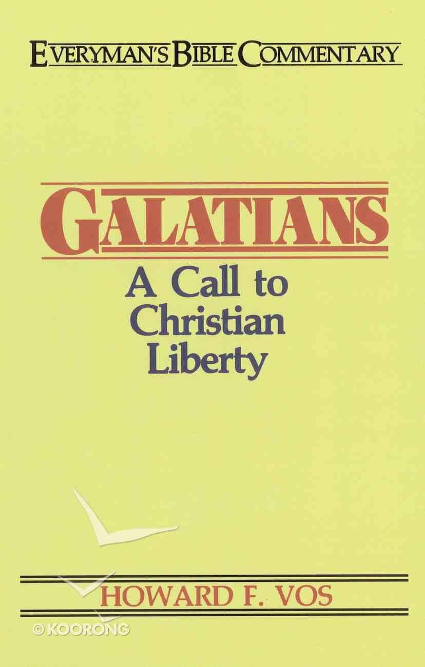 Galatians (Everyman's Bible Commentary Series) eBook