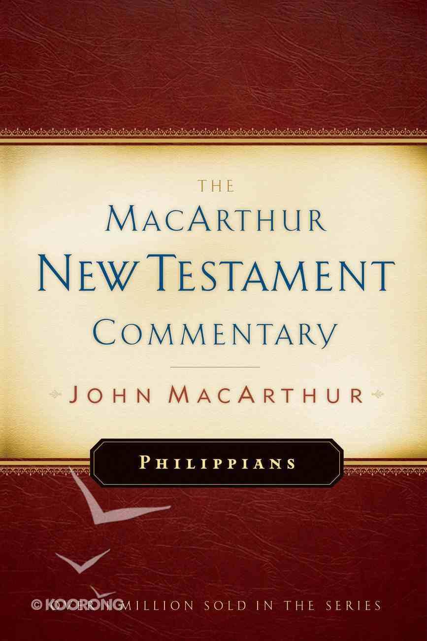 Philippians (Macarthur New Testament Commentary Series) eBook