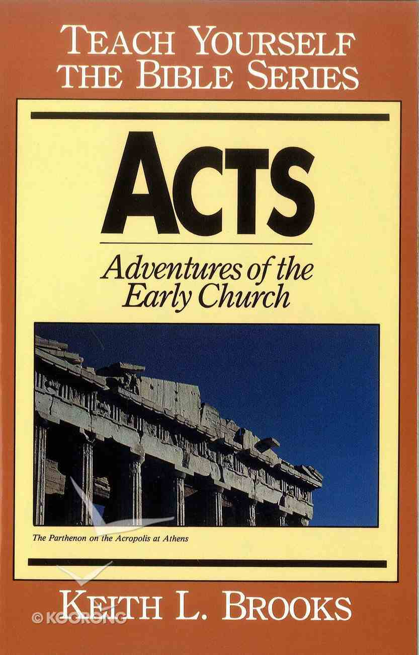 Acts (Teach Yourself The Bible Series) eBook