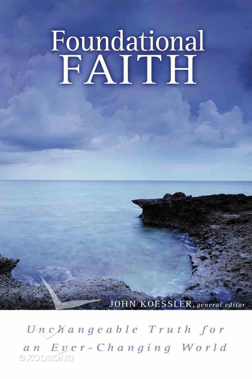 Foundational Faith eBook