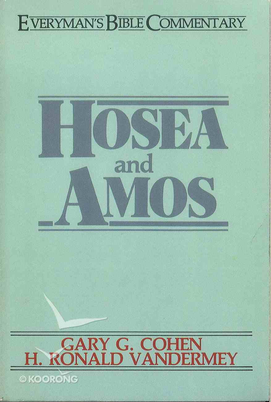 Hosea & Amos (Everyman's Bible Commentary Series) eBook