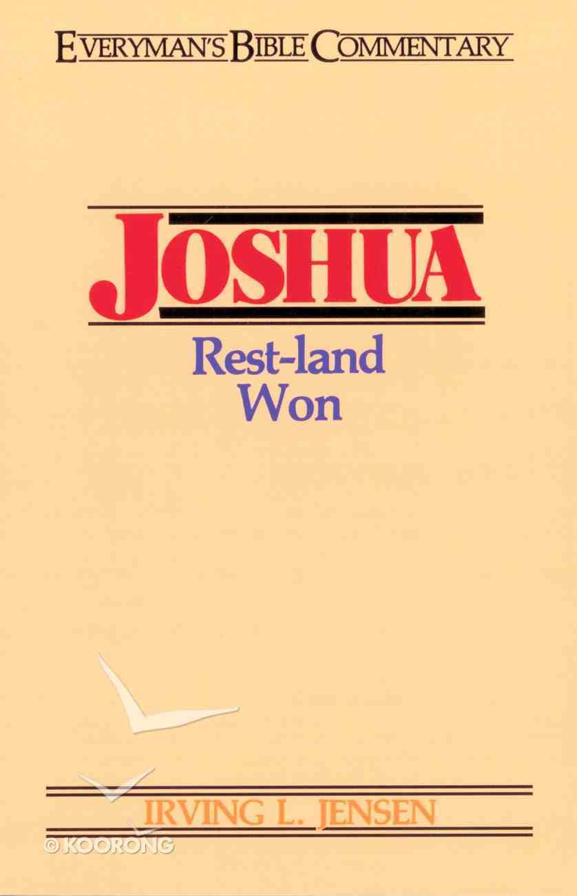 Joshua (Everyman's Bible Commentary Series) eBook