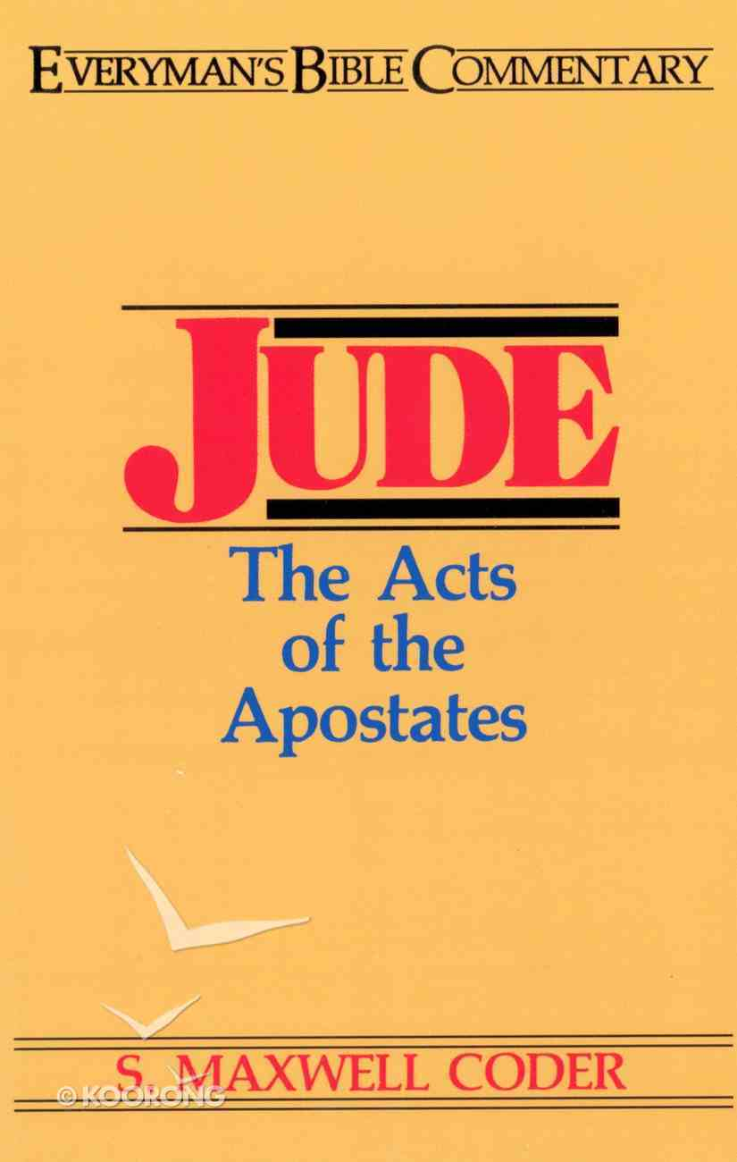 Jude (Everyman's Bible Commentary Series) eBook
