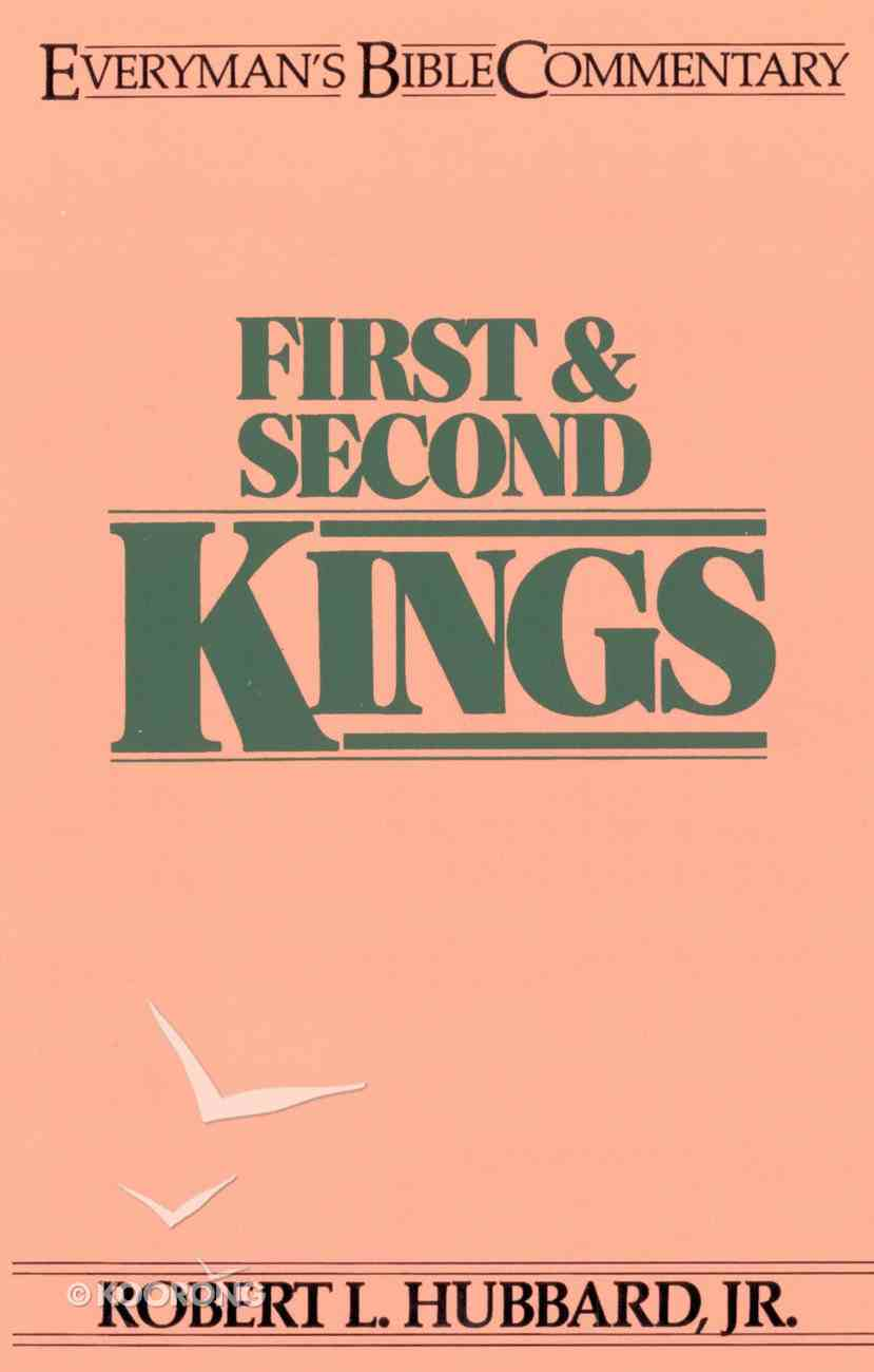 1 & 2 Kings (Everyman's Bible Commentary Series) eBook