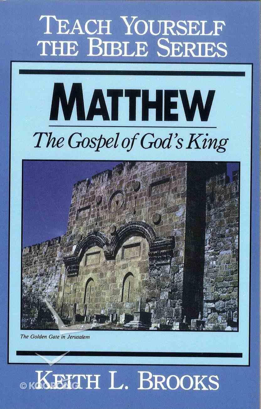 Matthew (Teach Yourself The Bible Series) eBook