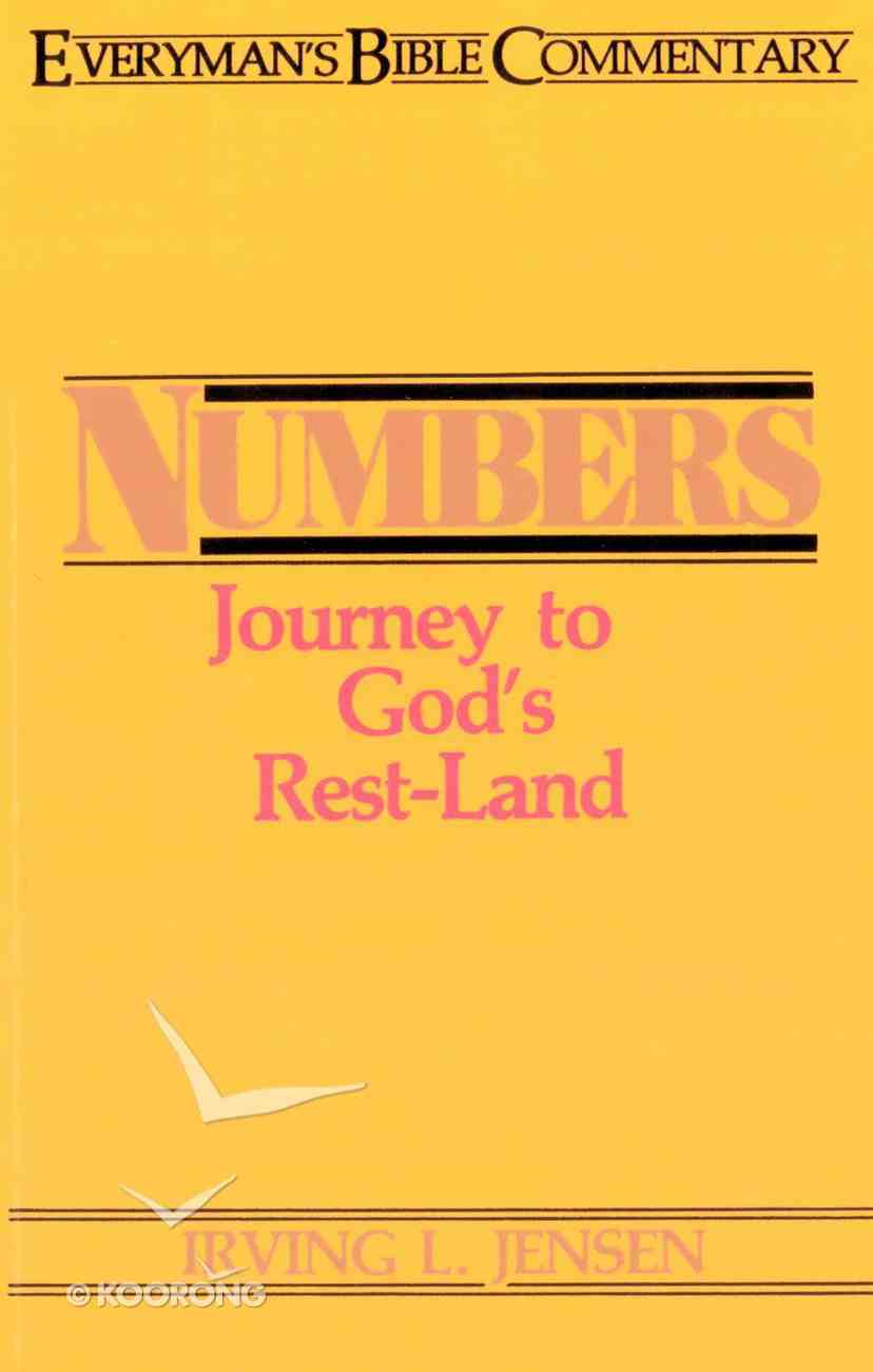 Numbers (Everyman's Bible Commentary Series) eBook