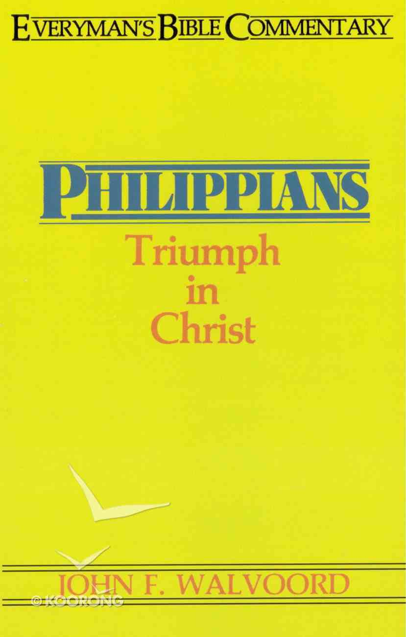Philippians (Everyman's Bible Commentary Series) eBook
