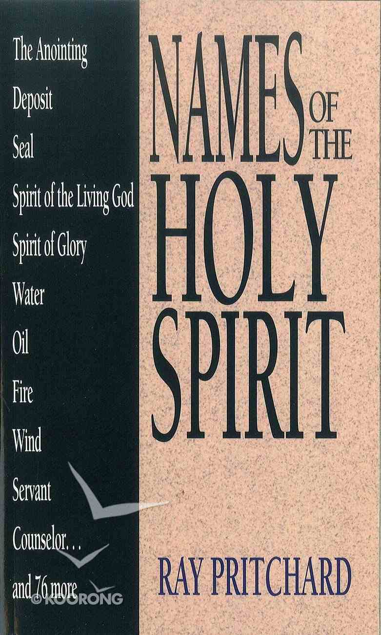 Names of the Holy Spirit eBook