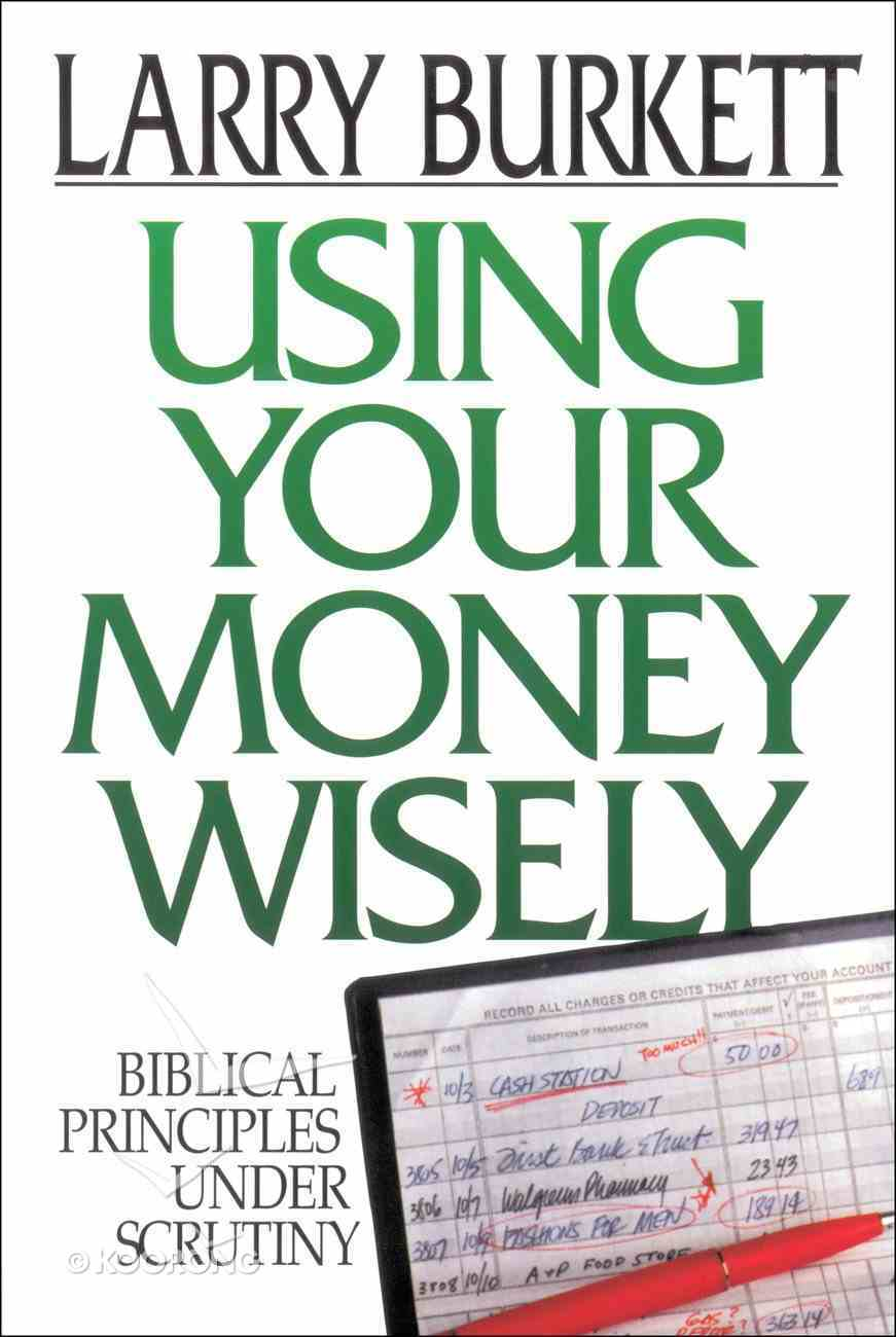 Using Your Money Wisely eBook