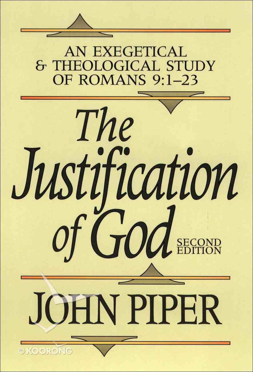 Justification of God (2nd Ed) eBook