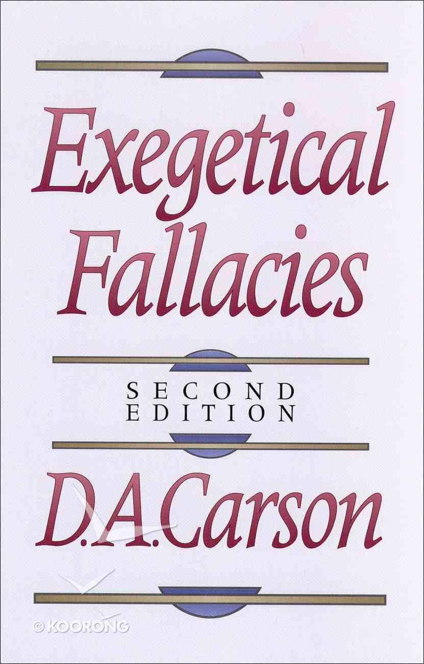 Exegetical Fallacies (2nd Ed) eBook