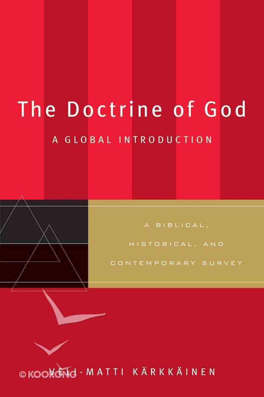 The Doctrine of God eBook